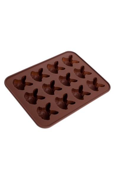 Patisse Tavşan Çikolata Kalıbı 12 li Silikon