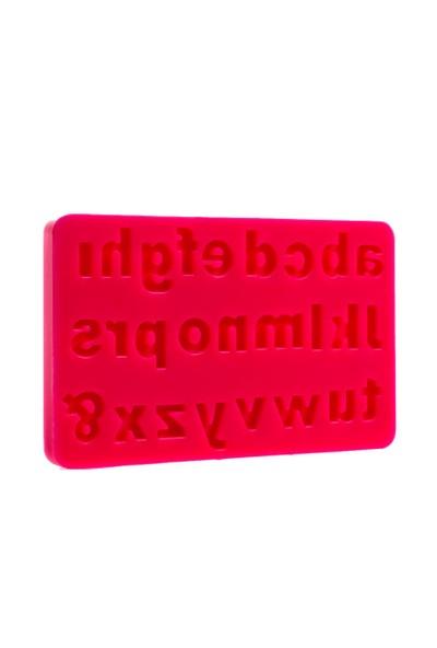 Patisse Tablet Küçük Harf Seti Silikon Kek Kalıbı