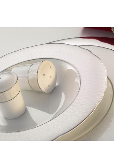 Kütahya Porselen Aspendos 84 Parça 25150 Desenli Yemek Takımı