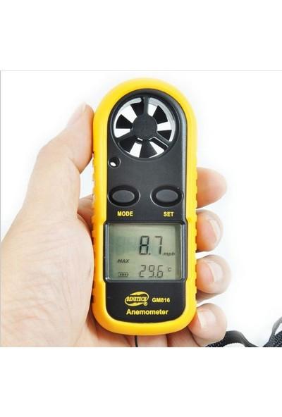 BENETECH Anemometre Termometreli Hava Akım Ölçer