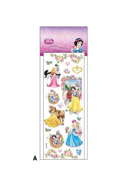 Artikel Disney Prenses Epo x y Sticker 6,5 x 17 cm