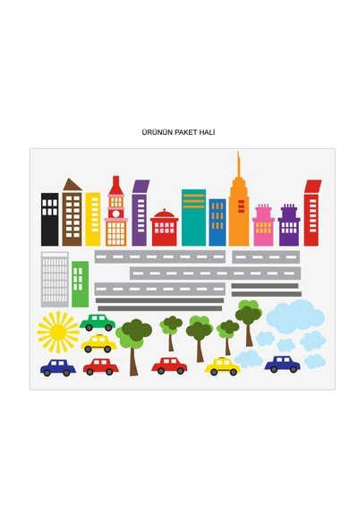 Besta Arabalar Duvar Sticker