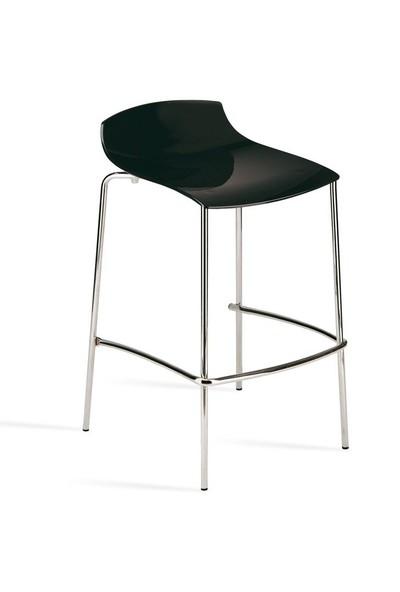 Papatya x -Treme-Bss Solid Bar Sandalyesi - Siyah