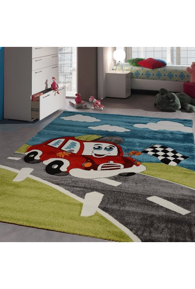 Merinos Merinos Opal Picaso 746-040 Çocuk Odası Halısı 120 x 170 cm