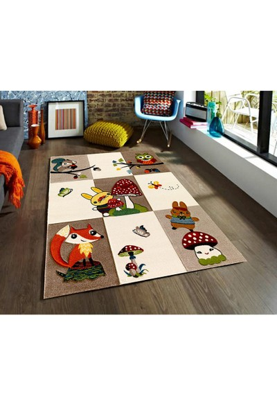 Padişah Padişah Çizgi Cz008-760 Çocuk Halısı 160 x 230 cm
