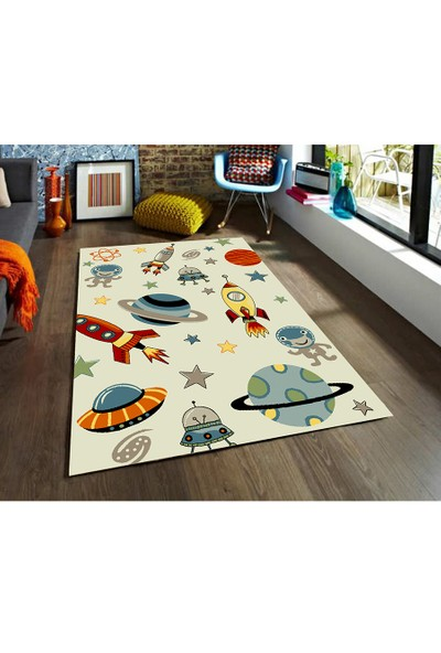 Padişah Padişah Çizgi Cz005-060 Çocuk Halısı 160 x 230 cm