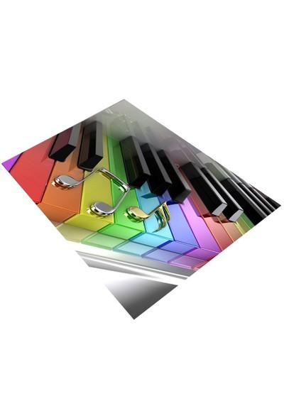 Jungle`S World Jungle`S World 170 Notalı Piano Çocuk Halısı 100 x 140 cm