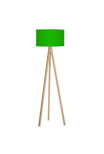 BS Maison Tripod Lambader Yeşil Naturel