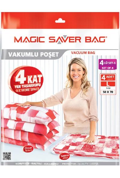 Magic Saver Bag 4 Lü Seyahat Seti - 1