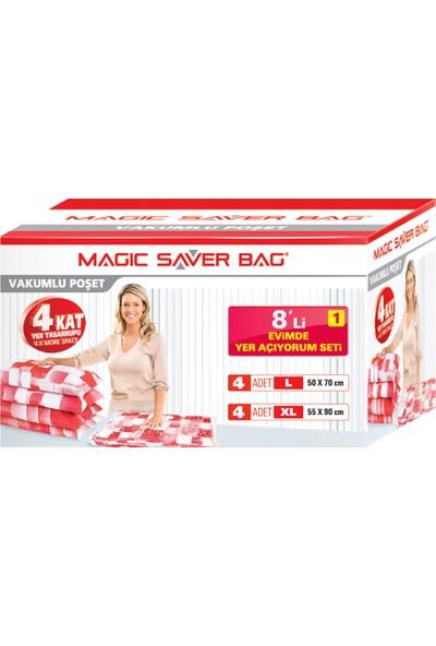 "Magic Saver Bag 8 li ""Evimde Yer Açıyorum"" Seti - 1 li"
