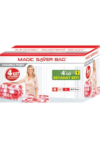 Magic Saver Bag 4 lü Seyahat Seti - 1 li