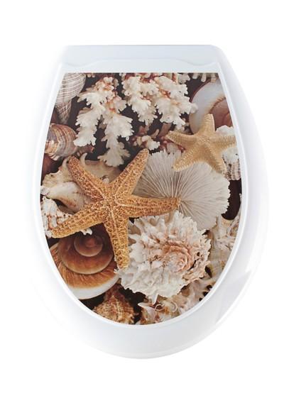 Doğuş Banyo Doğuş Klozet Kapağı-Deniz Yıldızı