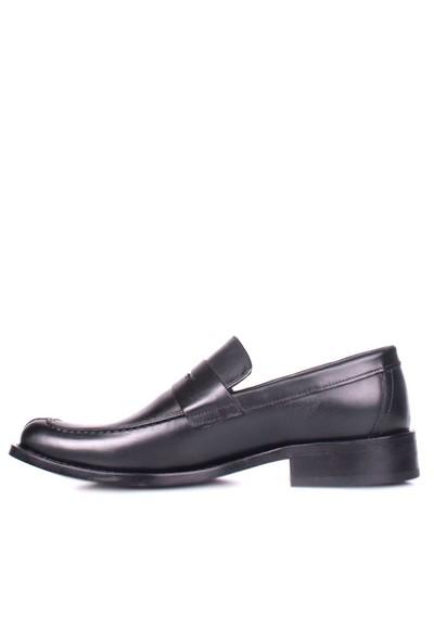 Erkan Kaban 332 071 014 Erkek Siyah Klasik Ayakkabı