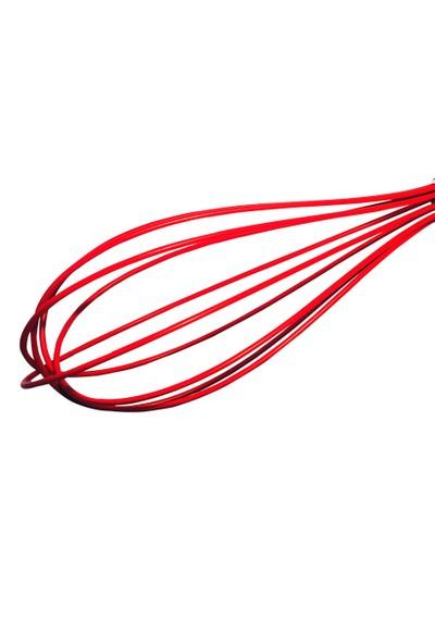 D-Sign Home Silikon Çırpıcı-Kırmızı