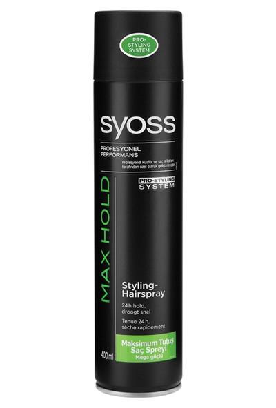 Syoss Saç Spreyi Maximum Tutuş 400 ml