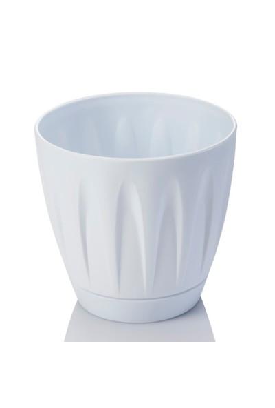 Mini Garden Papatya Saksı 1,5 LT Beyaz