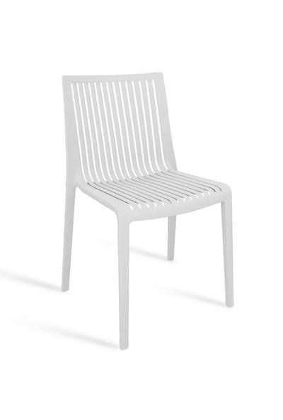Papatya Cool Sandalye - Beyaz