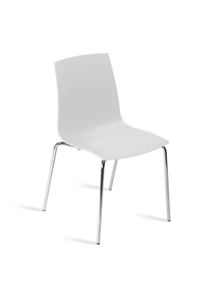 Papatya X-Treme-S Solid Sandalye - Beyaz
