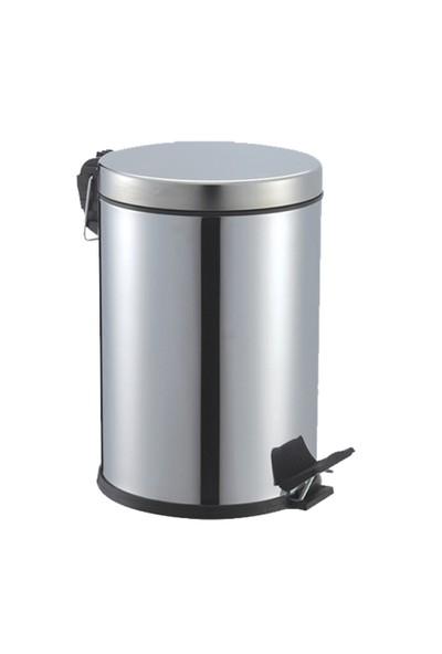 Cosiness Paslanmaz Pedallı Çöp Kovası 8 Lt