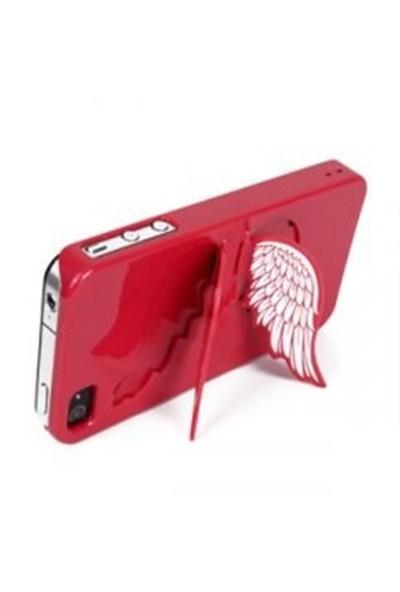 BuldumBuldum İphone 4/4S Melek Kanatlı Kılıf - Kırmızı