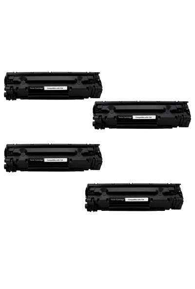 hementoner Canon i sensys MF4750 Toner 4 lü Ekonomik Paket Muadil Yazıcı Kartuş