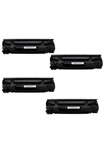 Calligraph Hp LaserJet Pro P1606dn Toner 4 lü Ekonomik Paket Muadil Yazıcı Kartuş