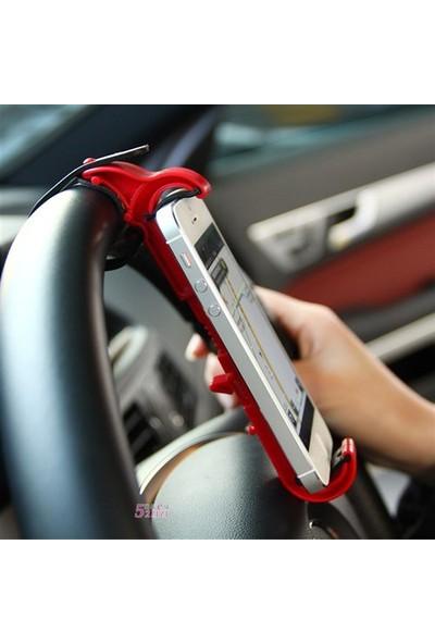 BuldumBuldum Direksiyon Arası Telefon Sabitleyici - Kırmızı