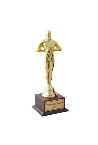 BuldumBuldum Oscar Ödülü - Oskar Başarı Heykeli Büyük Boy - Yılın En Romantik Çifti