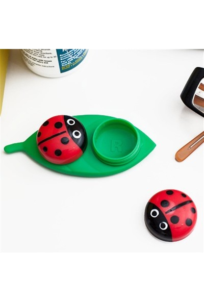 BuldumBuldum Ladybug Lens Case - Uğur Böceği Lens Kabı