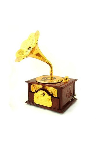 BuldumBuldum Gramofon Müzik Kutusu