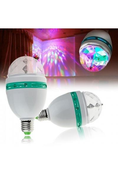 BuldumBuldum Crystal Magic Bulb - 360 Derece Dönen Lamba