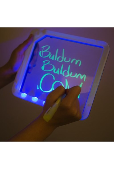 BuldumBuldum Light Board With 5 Led - Işıklı Yazı Tahtası