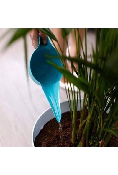 Mini Garden Çiçek Sulama Kabı 1 LT Turkuaz