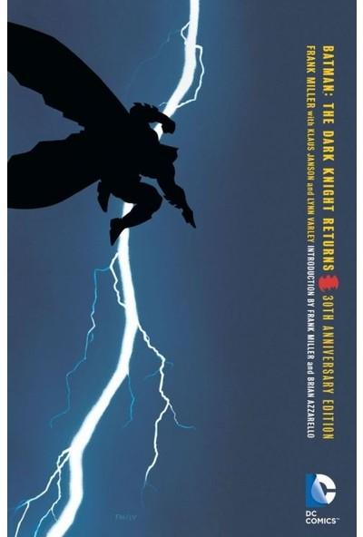 DC Comics Batman: The Dark Knight Returns 30th Anniversary Edition - İngilizce Çizgi Roman