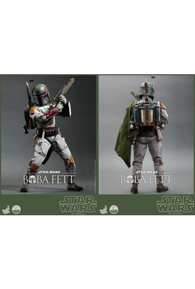 "Hot Toys Hot Toys Star Wars 4 Return of the Jedi Boba Fett 1/4 Quarter Scale 18"" Action Figure"