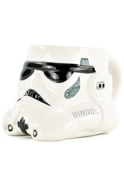 Half Moon Bay Star Wars Stormtrooper 3 Boyutlu Kupa Bardak