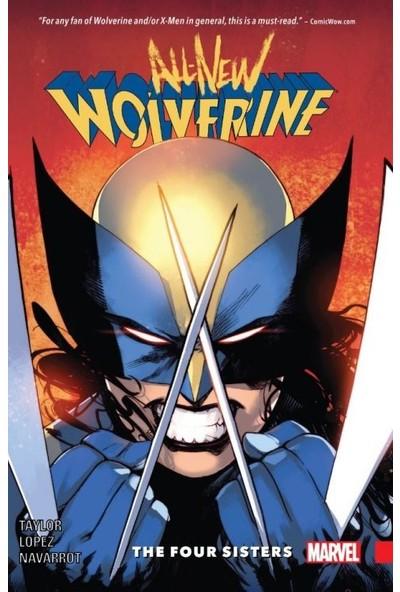 Marvel Comics All-New Wolverine Vol. 1: The Four Sisters İngilizce Çizgi Roman