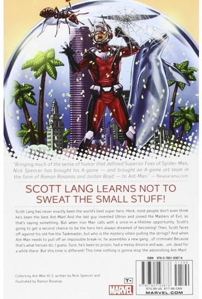 Marvel Comics Ant-Man Vol. 1: Second-Chance Man İngilizce Çizgi Roman