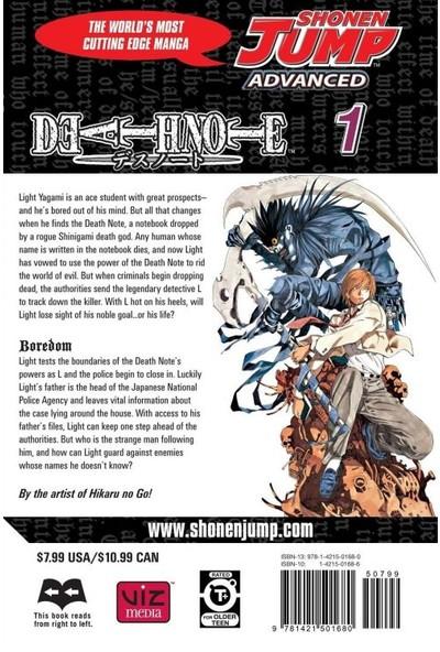 Death Note Death Note Vol. 1 İngilizce Çizgi Roman