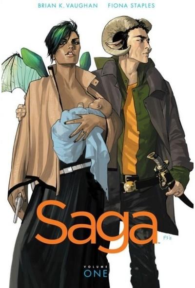 Saga Vol. 1 İngilizce Çizgi Roman