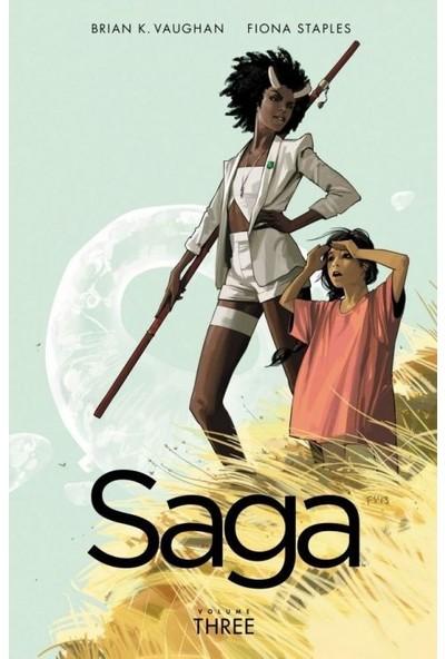 Saga Vol. 3 İngilizce Çizgi Roman