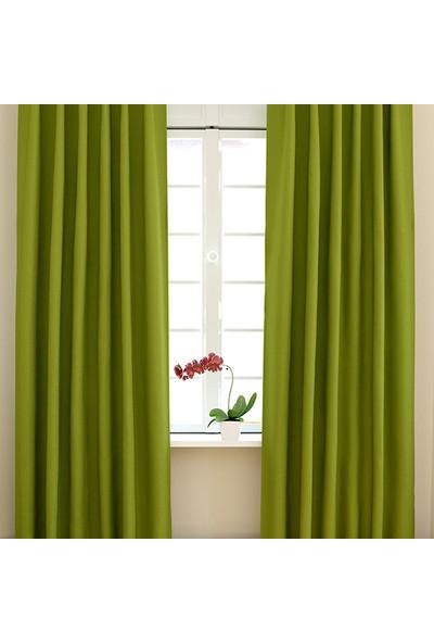 Misya Home Fon Perde Yeşil