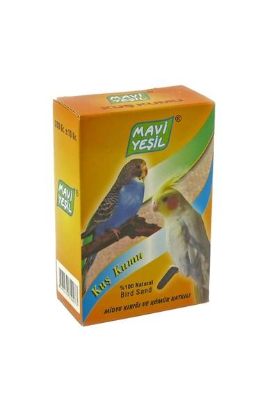 Mavi Yeşil Kuş Kumu 350 g