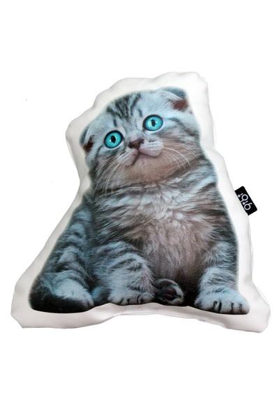 Gibi Design Magu Yavru Kedi Yastık