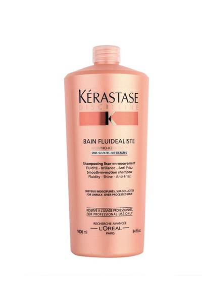 Kerastase Discipline Bain Fluidealiste Sulfate Free Boyali Saçlar İçin Sülfatsiz Disiplin Şampuan 1000ml