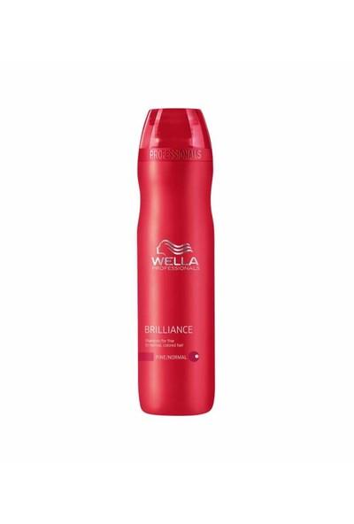 Wella Brilliance İnce Telli/Normal Boyali Saçlar İçin Şampuan 250ml