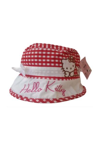 Hello Kitty Şapka - Kırmızı