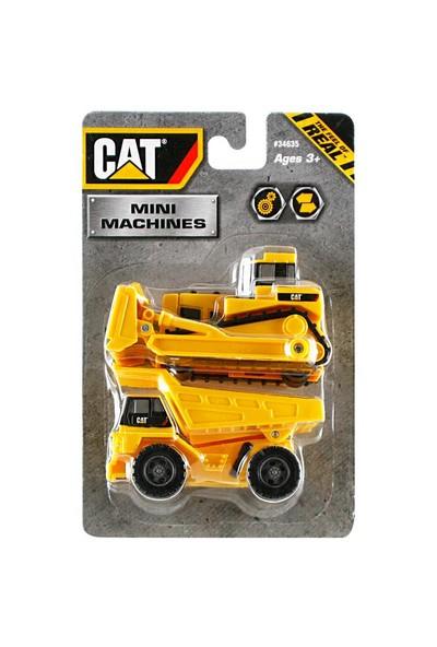 Cat 2 li Mini İş Makinası Seti
