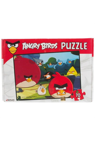 Angry Birds 70 Parça Puzzle