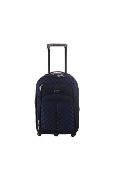 ÇÇS 085 Orta Boy 5 Tekerlekli Kumaş Valiz